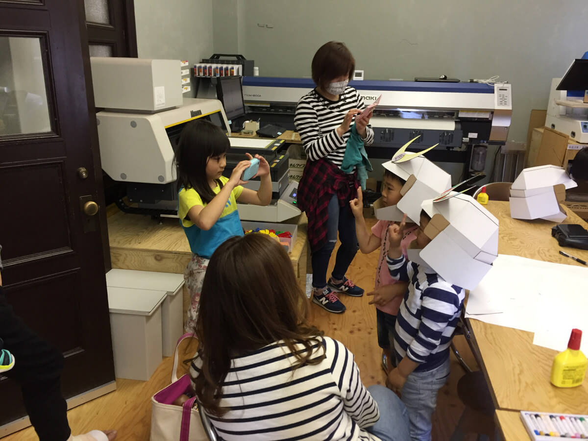 子ども達の撮影大会