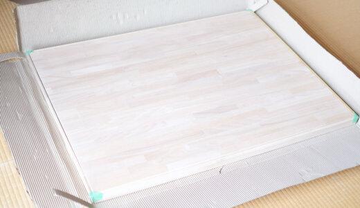 マルトクで木製天板をサイズオーダー、好感度大の丁寧な仕事