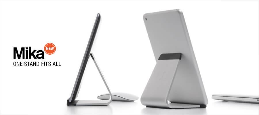 これは欲しいぞ!blueloungeの新作Mikaは、iPad、Macに最適なスタンド!