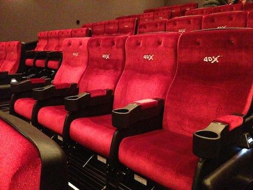 4DXおすすめ席は?実際に映画を見て体感してきた感想!