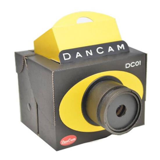 ちゃんと写真も撮れるダンボール製一眼レフカメラDANCAM!!
