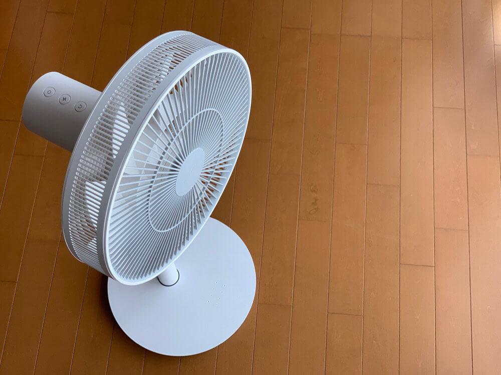 balmuda Green Fan のバッテリー