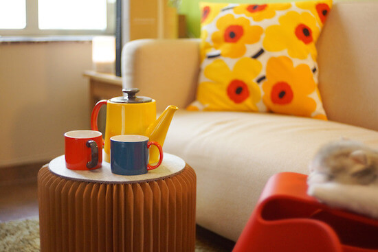 椅子やインテリアなど、ハニカムで広がる紙製品の可能性