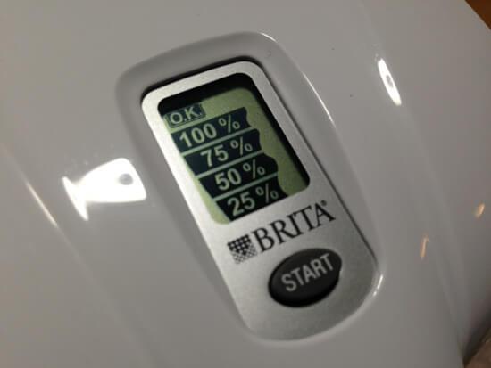 BRITA(ブリタ)のデジタルメーターを無償交換してもらったよ