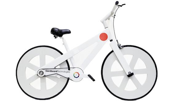 ダンボールに無限の可能性を感じさせる「ダンボール自転車」が素晴らしい!!