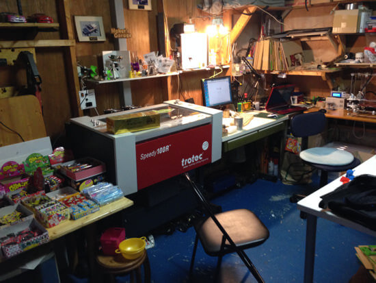 「3Dプリンタやレーザーカッターが使える駄菓子屋」エランズクラフトに行ってきました