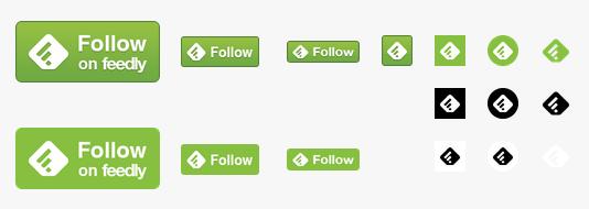 ワンクリックでFeedlyに登録できるFollow on Feedlyボタンを設置