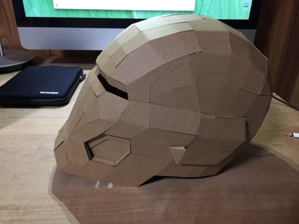 アイアン マン 段ボール 設計 図