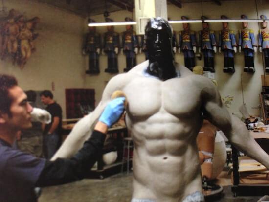 ハリウッドで活躍中のアーティスト、片桐さんが教鞭をとる彫刻セミナーに参加します