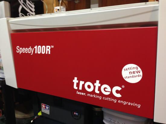 レーザーカッター「trotec Speedy100R」の使い方 ハードウェア編