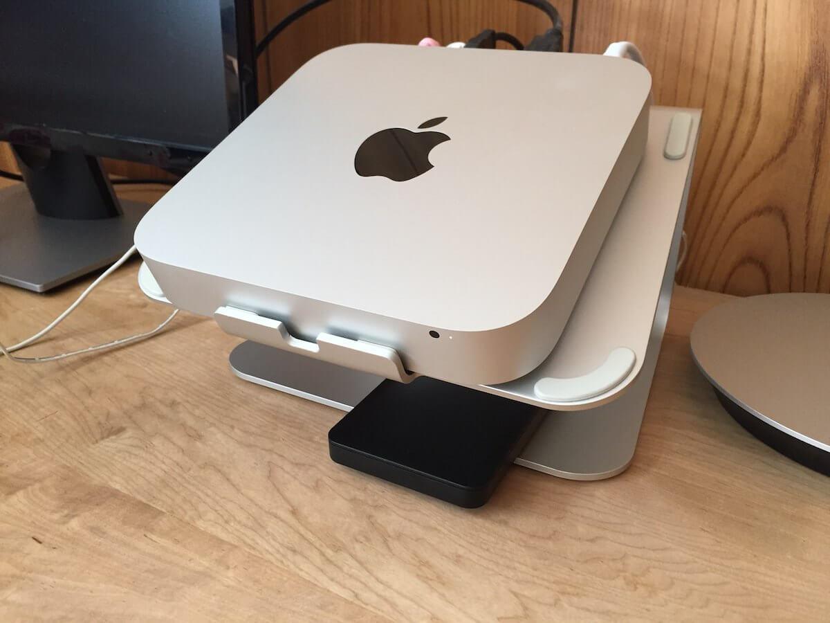 外付けSSDを使ってHDDのMac miniを高速化した