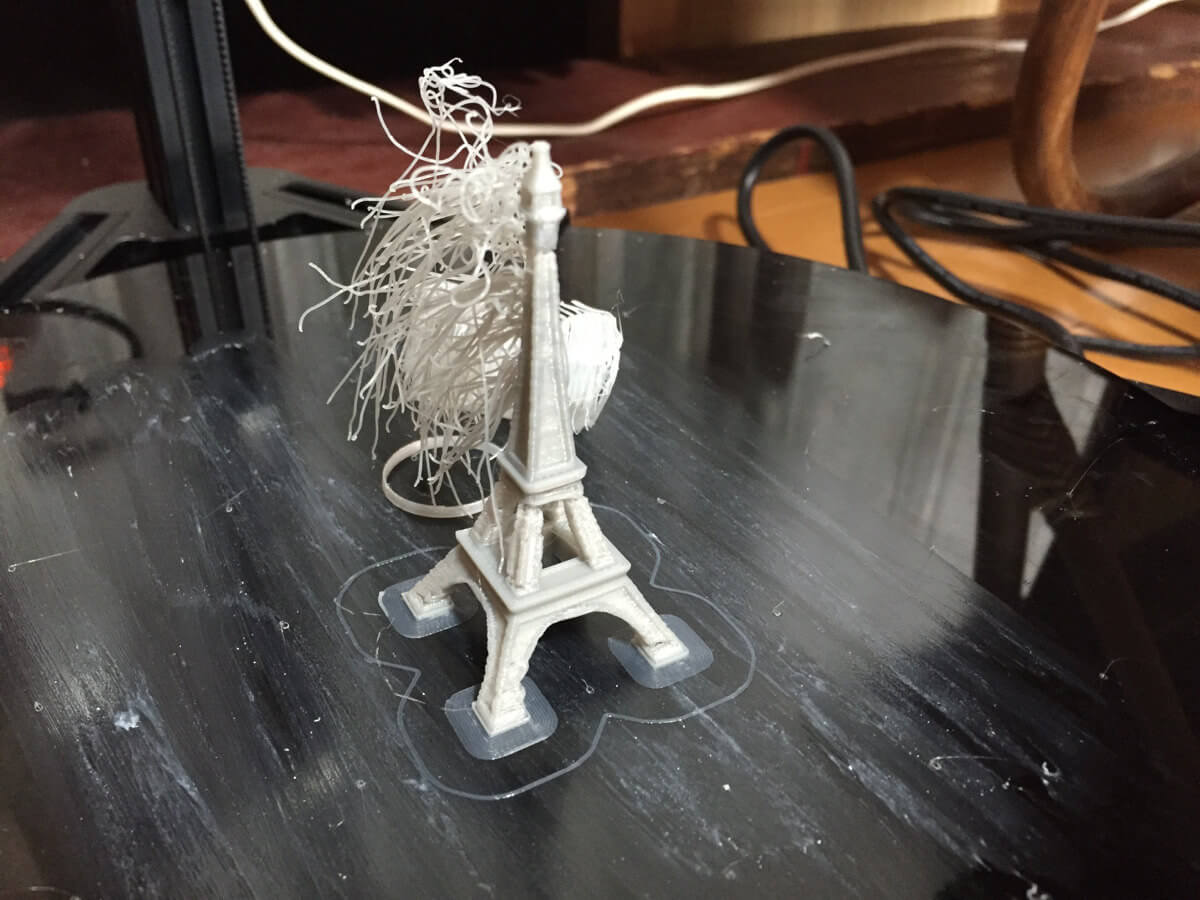 3Dプリンタで2つ目のモデルデータがプリントできずハマってしまった