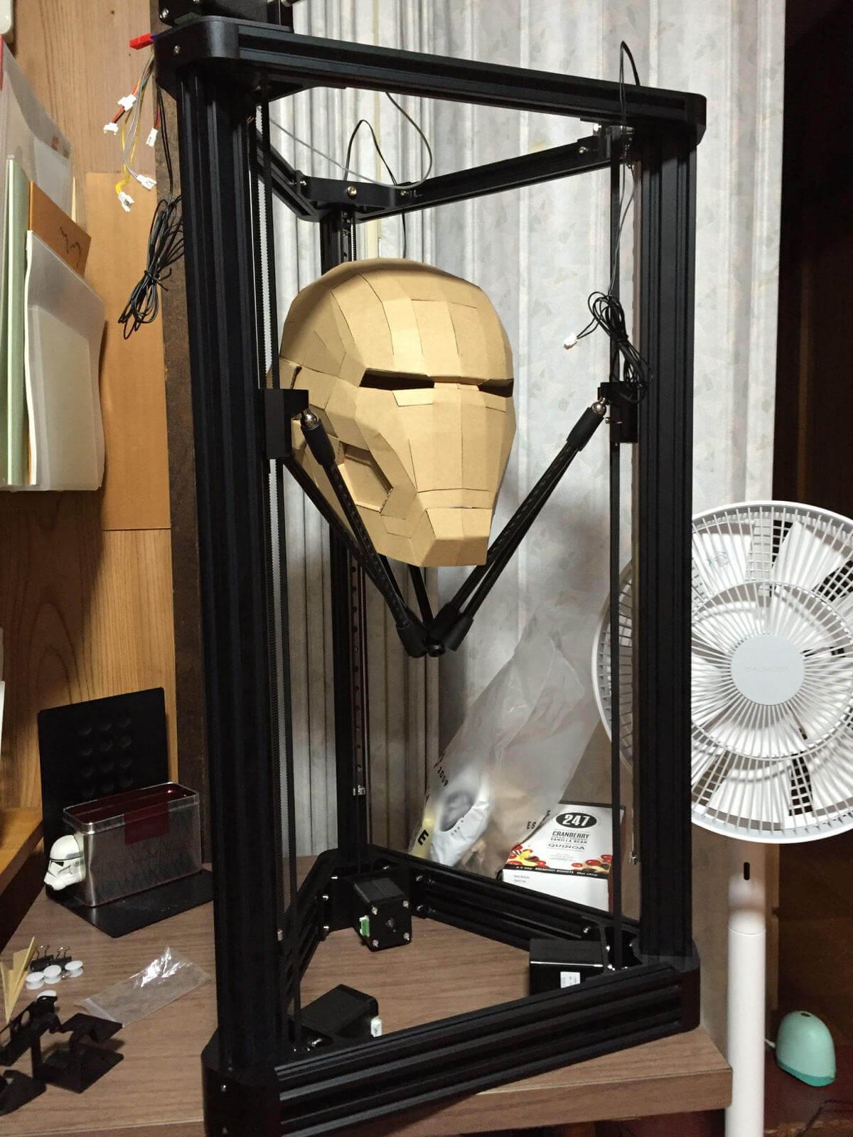 3DプリンタMAESTRO、説明書を見ながら組み立て完了!