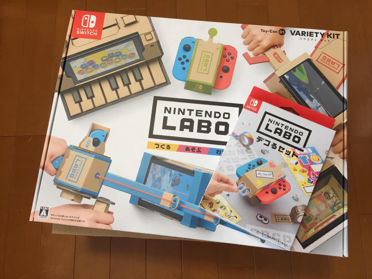 Nintendo Laboは丁寧な作り込みが素晴らしいという第一印象