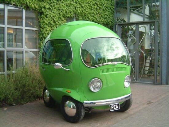 なにこれ、超カワイイ!市販されたらバカ売れしそうなキュートな車