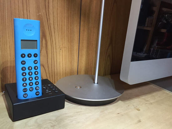 ヤフオクで±0の電話機を落札!デザインが良くて、満足度高い!