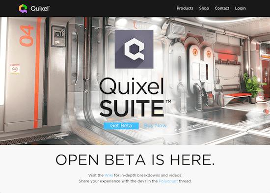テクスチャ作成ツールQuixel SUITEのベータ版がダウンロード可能に!!