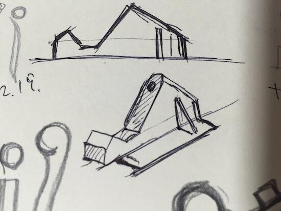 梱包用ダンボールでスケートボード!!複雑な形のホイール周りを作っていくよ!!