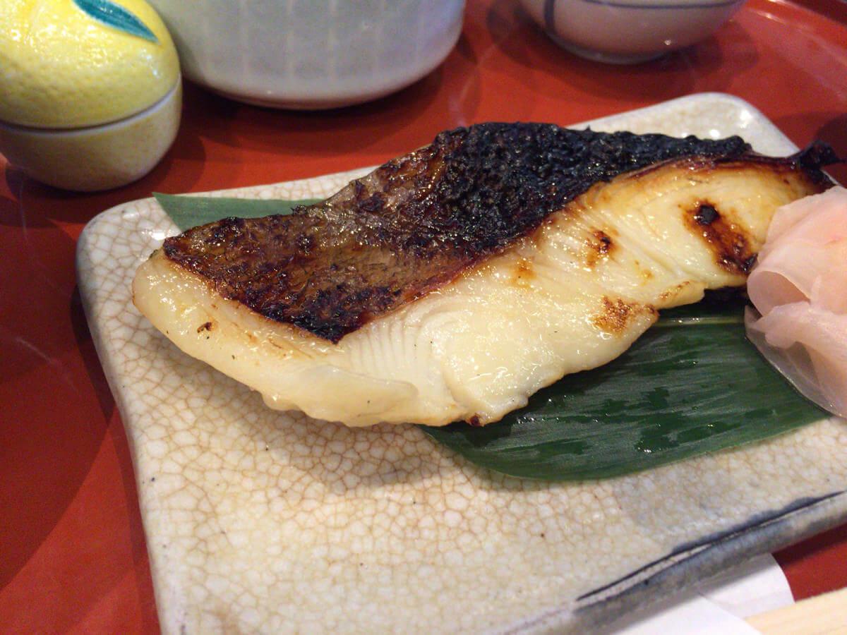 鈴波の焼き魚