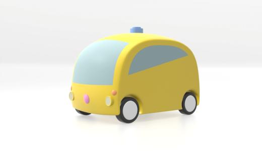 シナジックモビリティ向けに自動運転車のイメージをデザインしました