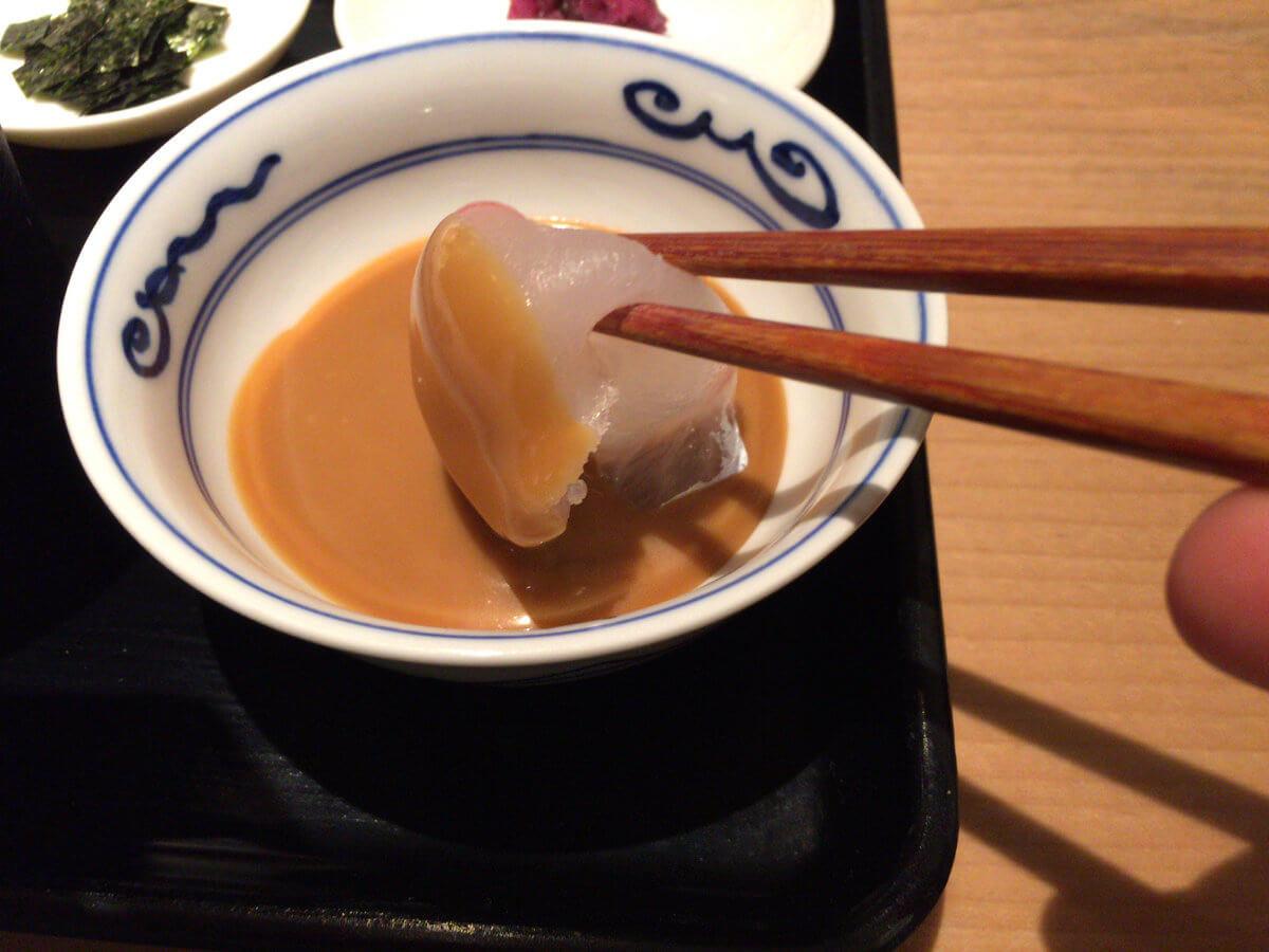 女性に大人気「鯛茶福乃」は濃厚な胡麻だれと緑茶漬けが絶品!