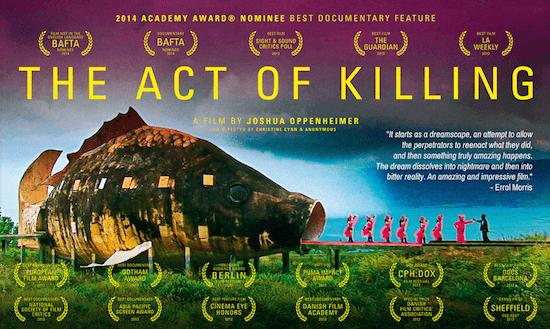 [映画]凄惨な虐殺の実行者達が自らを演じる「アクト・オブ・キリング」