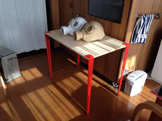 板だけあれば、机ができる!The Floyd Legをやっとこ使ってみたよ!