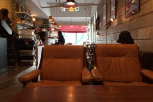 Trunk Coffee 店内