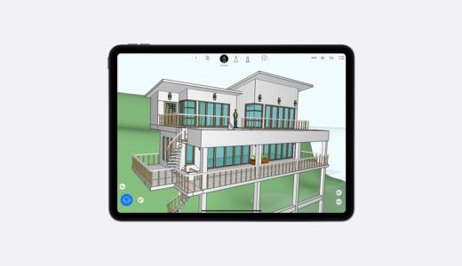 iPadで「スケッチするように3Dが作れる」uMake