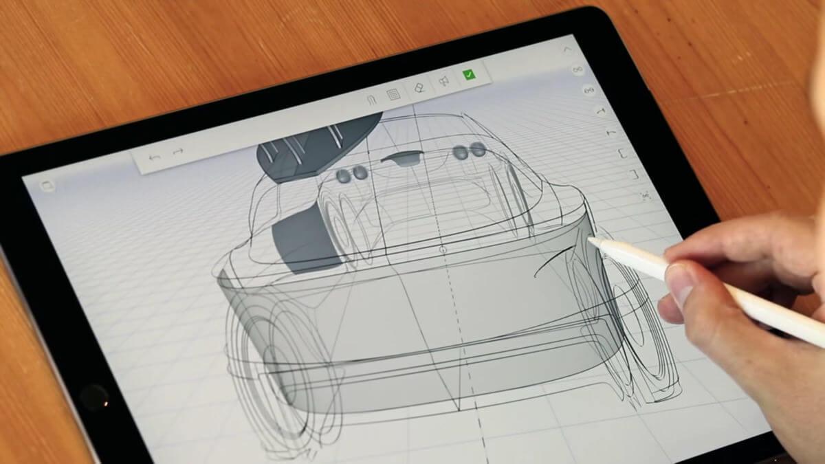 iPadで「スケッチするように3Dが作れる」uMakeがとてもおもしろそう